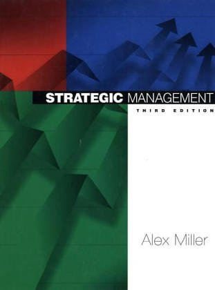 9780071154017: Strategic Management (McGraw-Hill International Editions)