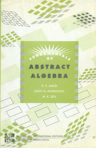 9780071154222: Fundamentals of Abstract Algebra