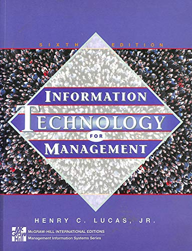 9780071154277: Information Technology for Management (McGraw-Hill International Editions)