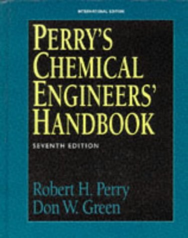 9780071154482: Perry's Chemical Engineers' Handbook (McGraw-Hill International Editions Series)