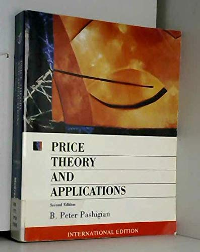 9780071154628: Price Theory and Applications (McGraw-Hill International Editions Series)