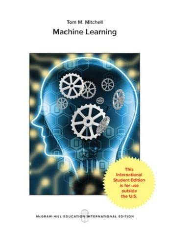 Machine Learning (McGraw-Hill International Editions Computer Science: Tom M. Mitchell
