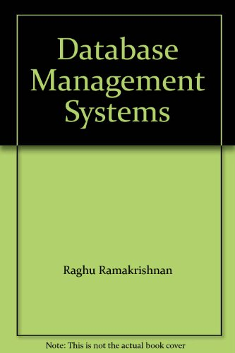 9780071155083: Database Management System (McGraw-Hill International Editions: Computer Science Series)
