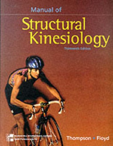9780071155847: Manual of Structural Kinesiology - 13th edition