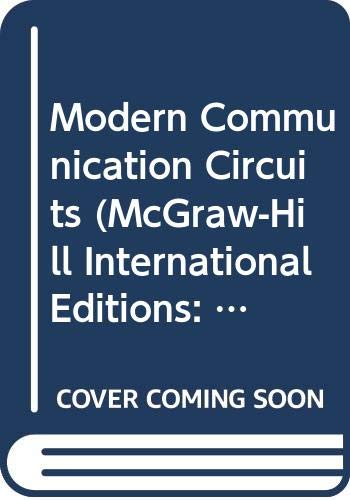 9780071155861: Modern Communication Circuits (McGraw-Hill International Editions: Electrical Engineering Series)