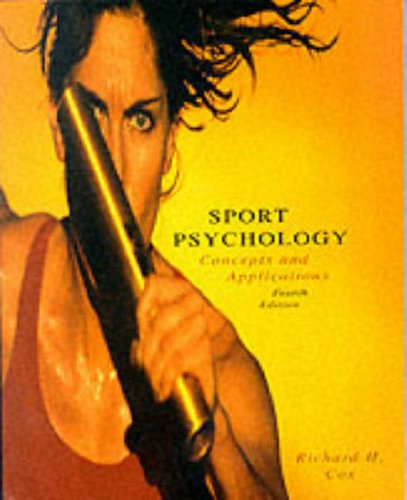 9780071156684: Sports Psychology: Concepts and Applications