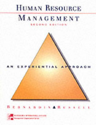 9780071156745: Human Resources Management: An Experiential Approach