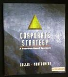 9780071156769: Corporate Strategy: A Resource-Based Approach (McGraw-Hill International Editions: Management & Organization Series)