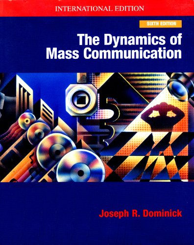 9780071156851: The Dynamics Of Mass Communications