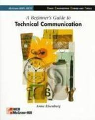 9780071156899: Beginner's Guide to Technical Communication (McGraw-Hill international editions)