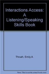 9780071157445: Interactions Access: A Listening/Speaking Skills Book