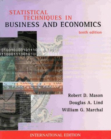 9780071158084: Statistical Techniques in Business and Economics (McGraw-Hill International Editions)