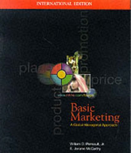 9780071158336: Basic Marketing: A Global Managerial Approach