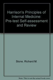 9780071158466: Harrison's Principles of Internal Medicine: Pre-test Self-assessment and Review