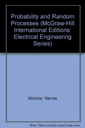 9780071158725: Probability and Random Processes (McGraw-Hill International Editions: Electrical Engineering Series)