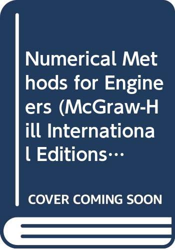9780071158954: Numerical Methods for Engineers (McGraw-Hill International Editions: General Engineering Series)