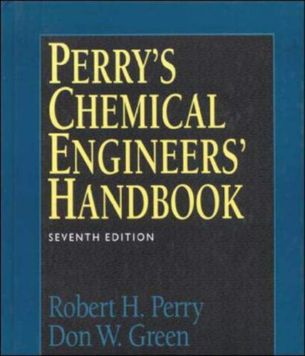 9780071159821: Perry's Chemical Engineers Handbook (International student edition)
