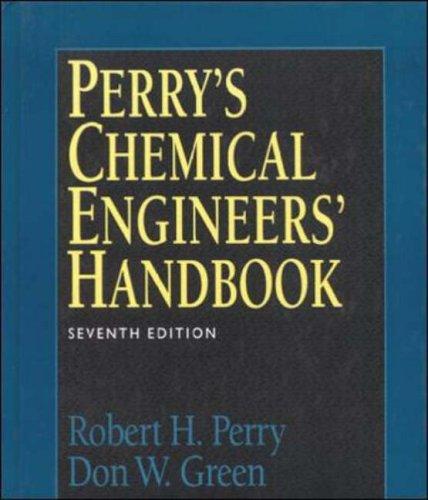 9780071159821: Perry's Chemical Engineers Handbook (International student edition)