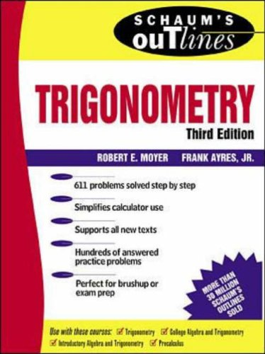 9780071160131: Schaum's Outline of Theory and Problems of Trigonometry