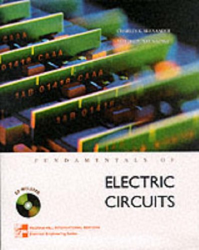 9780071160421: Fundamentals of Electric Circuits (McGraw-Hill International Editions: Electrical Engineering Series)