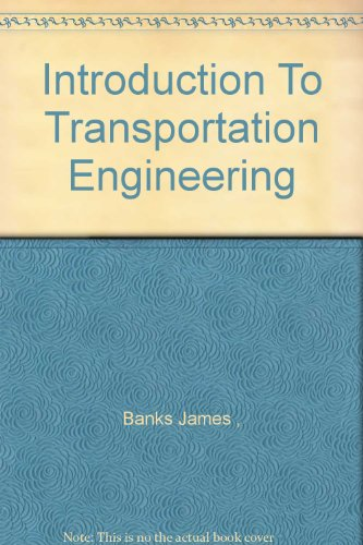9780071160674: Introduction To Transportation Engineering