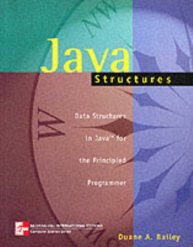9780071160919: Java Structures (Mcgraw-Hill International Editions: Computer Science Series)
