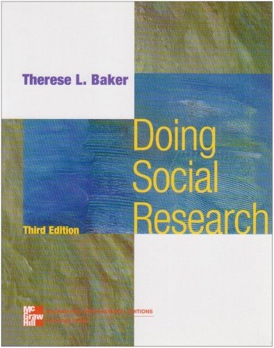 9780071160926: Doing Social Research (McGraw-Hill International Editions Series)