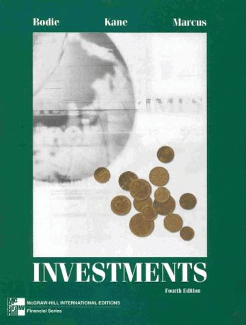 9780071160971: Investments (McGraw-Hill International Editions)