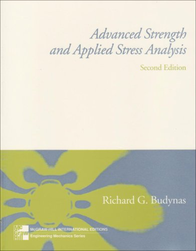 9780071160995: Advanced Strength and Applied Stress Analysis (McGraw-Hill International Editions: Engineering Mechanics Series)