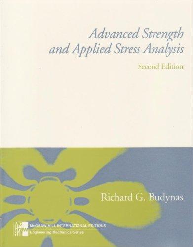 9780071160995: Advanced Strength and Applied Stress Analysis (McGraw-Hill International Editions: Engineering Mechanics Series)