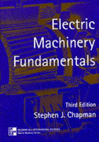 9780071161459: Electric Machinery Fundamentals (McGraw-Hill International Editions Series)