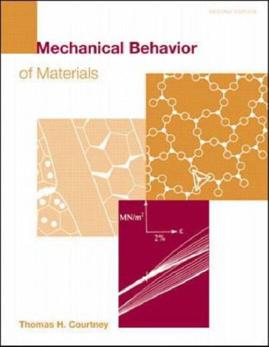 9780071161718: Mechanical Behaviour of Materials (McGraw-Hill International Editions: Material Science/metallurgy Series)