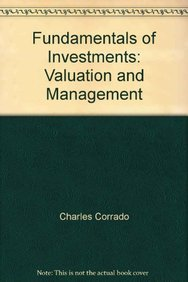 9780071161749: Fundamentals of Investments: Valuation and Management