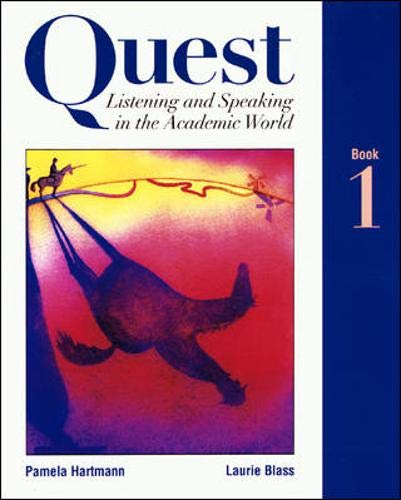9780071162975: Quest Listening and Speaking in the Academic World: Bk. 1