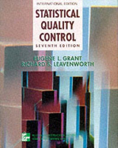 9780071163200: Statistical Quality Control