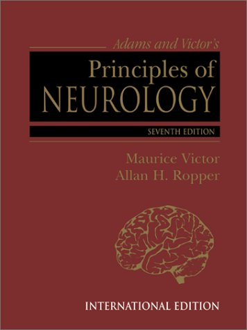 9780071163330: Adams and Victor's Principles of Neurology (International Students Edition)