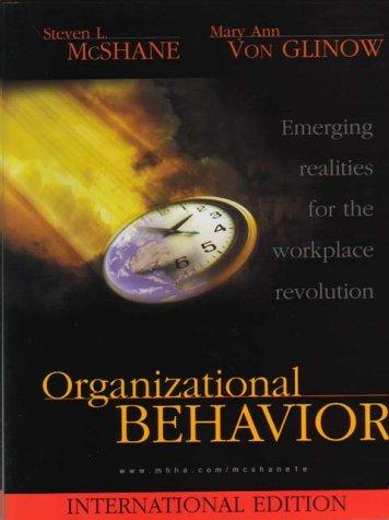 9780071163347: Organizational Behaviour