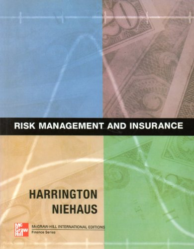 9780071163750: Risk Management and Insurance (McGraw-Hill International Editions Series)