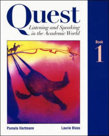 9780071163873: Quest Listening & Speaking in the Academic World