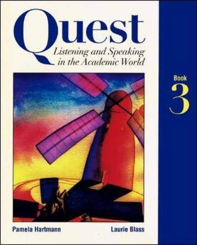 9780071163897: Quest: Bk. 3: Listening and Speaking in the Academic World