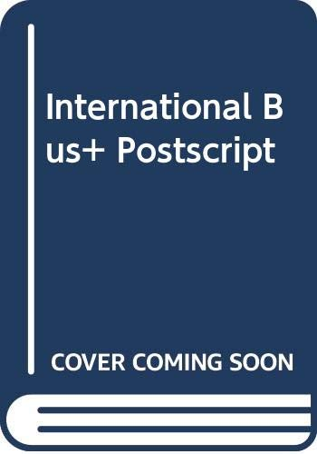 9780071164177: International Bus+ Postscript
