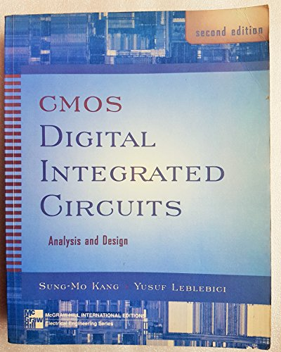 9780071164276: CMOS Digital Integrated Circuits: Analysis and Design (McGraw-Hill International Editions Series)