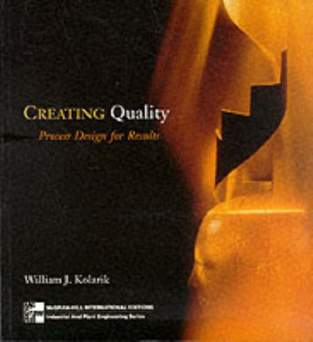 9780071164283: Creating Quality Process Design for Results