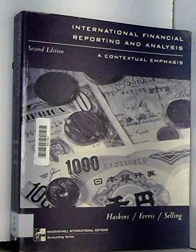 9780071165204: International Financial Reporting and Analysis