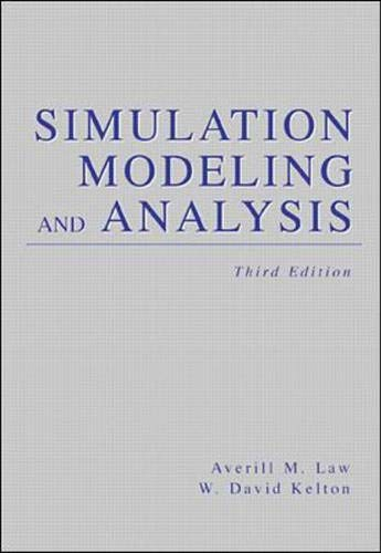 9780071165372: Simulation Modelling and Analysis