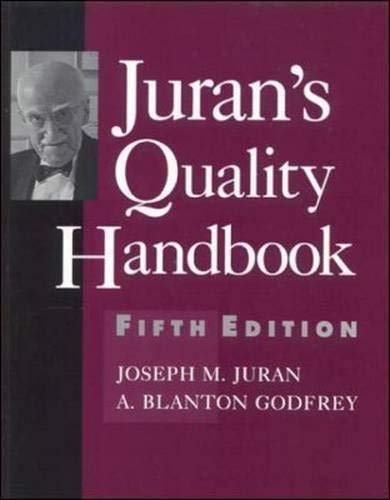 9780071165396: Juran's Quality Handbook (McGraw-Hill International Editions: Industrial Engineering Series)