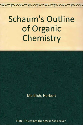 9780071165983: Schaum's Outline of Organic Chemistry