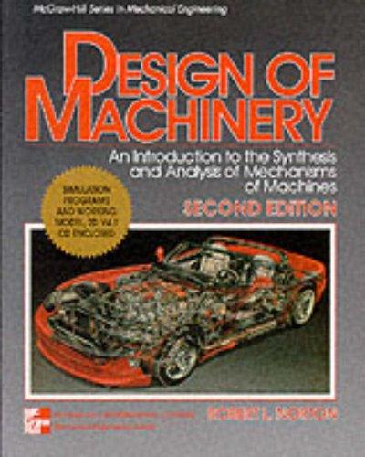 9780071166058: Design of Machinery (McGraw-Hill International Editions Series)