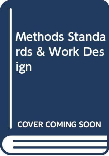 9780071166065: Methods Standards & Work Design