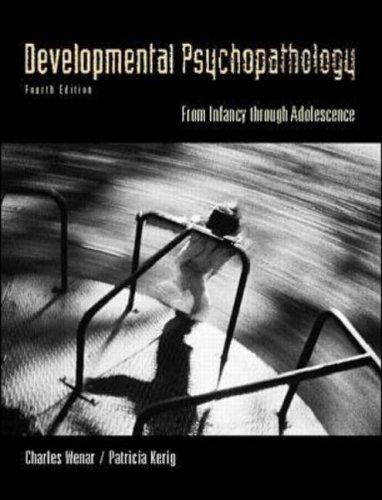 9780071166416: Developmental Psychopathology (McGraw-Hill International Editions: Psychology Series)